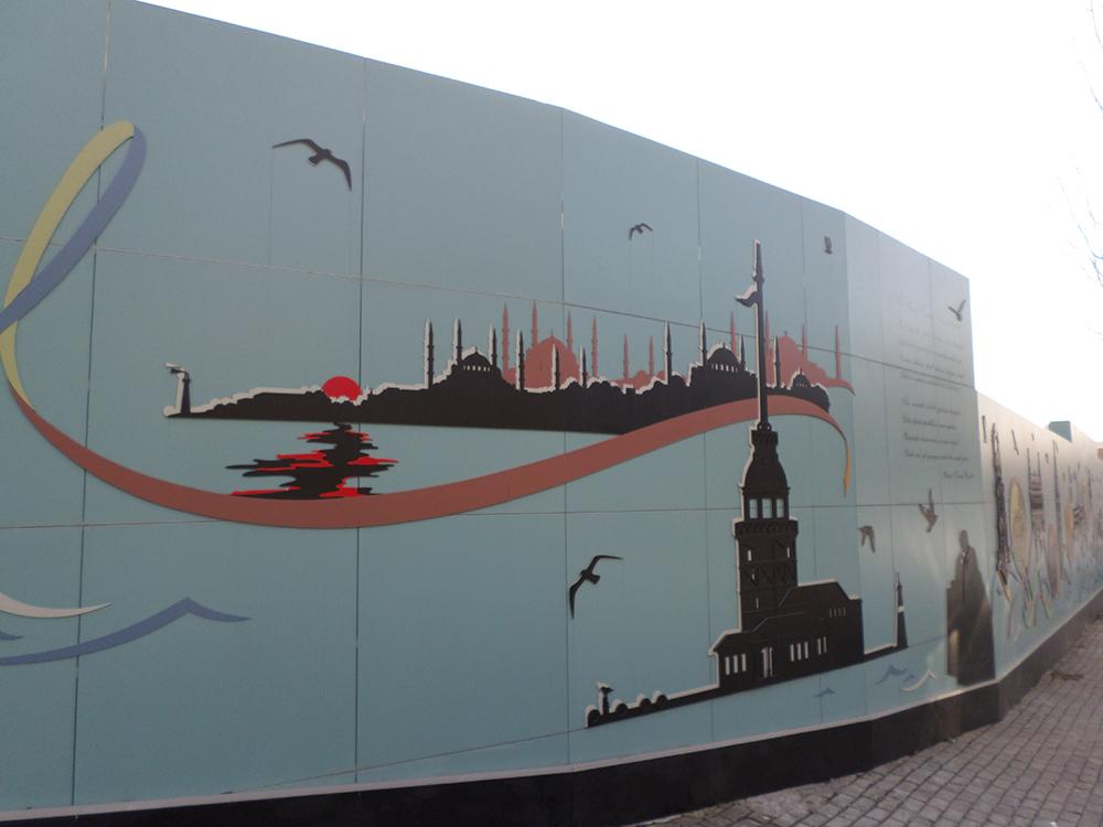 Bogaziçi Üniversitesi / Metro Kalesinterflex Uygulaması