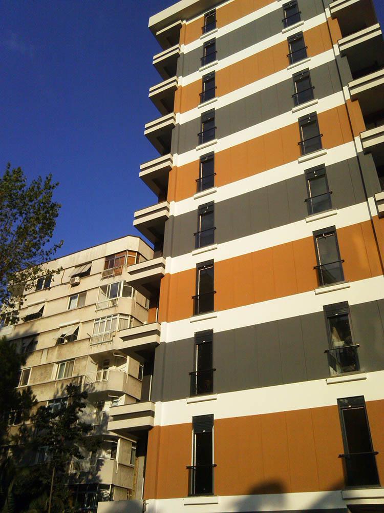 Protek İnşaat / As Apartmanı Projesi
